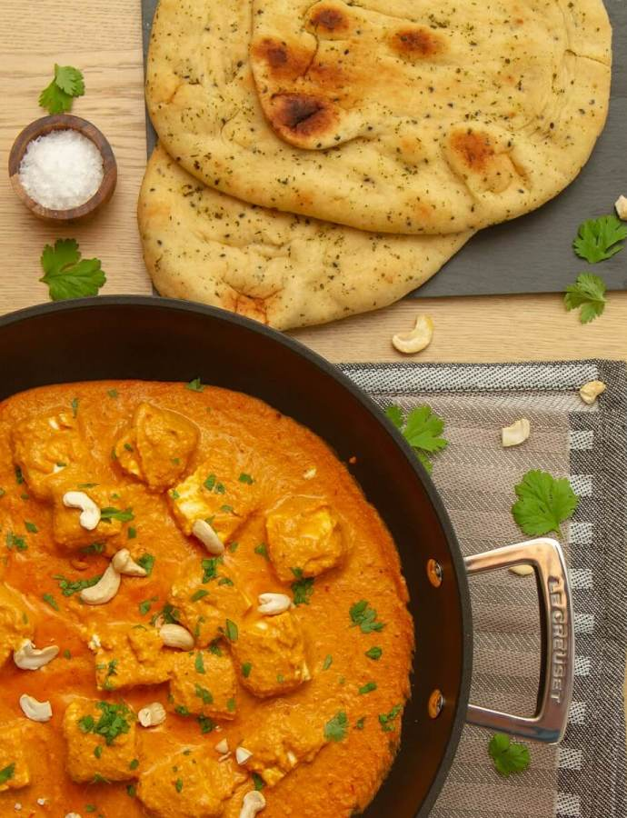 Shahi paneer – Nord-Indisk curry
