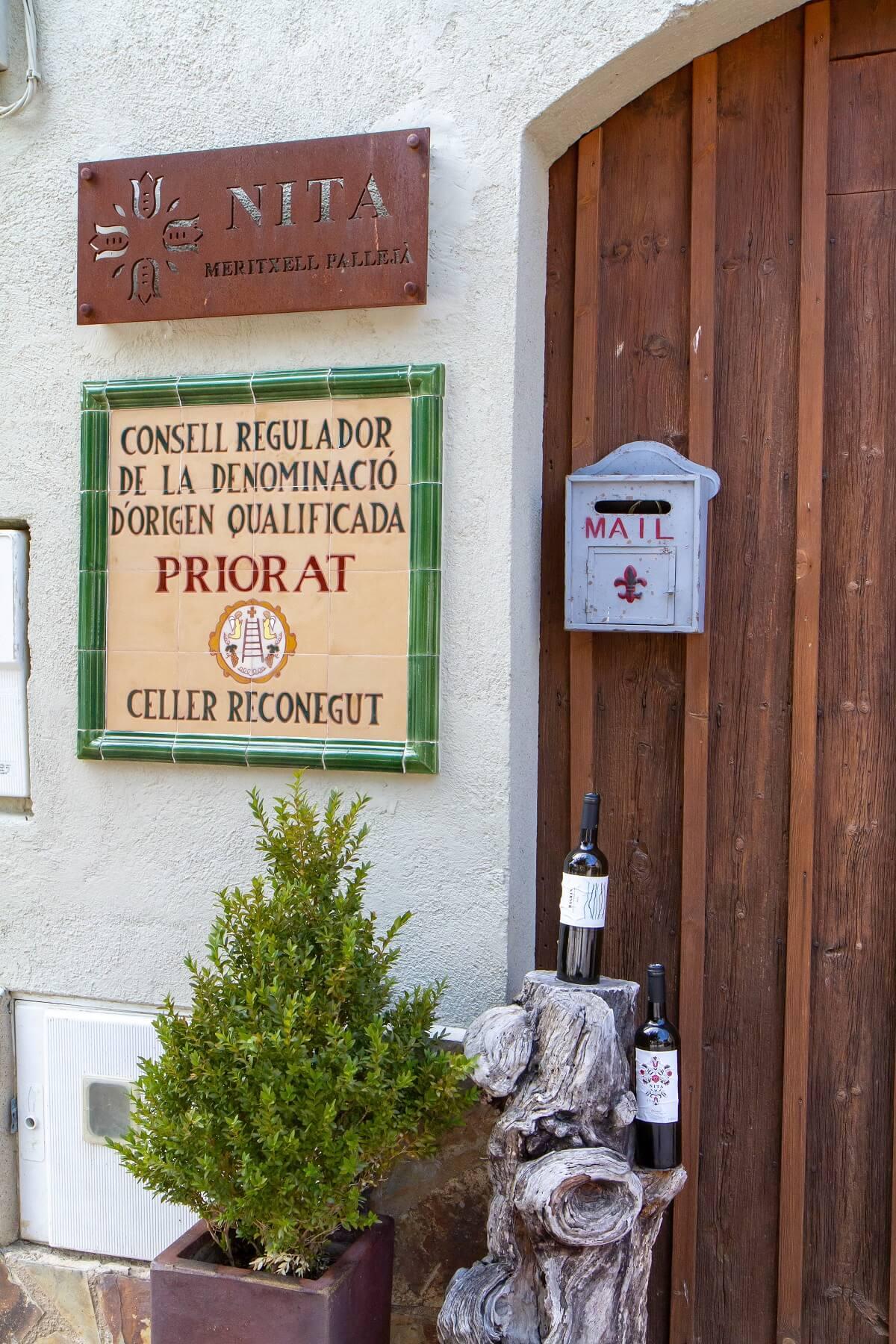 Vinflasker til velkomst