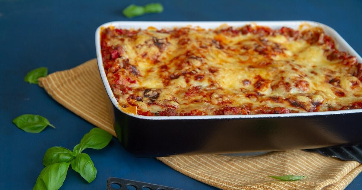 Lasagne à la Det glade kjøkken