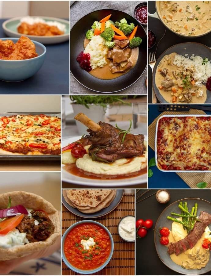 10 middagsfavoritter i påsken