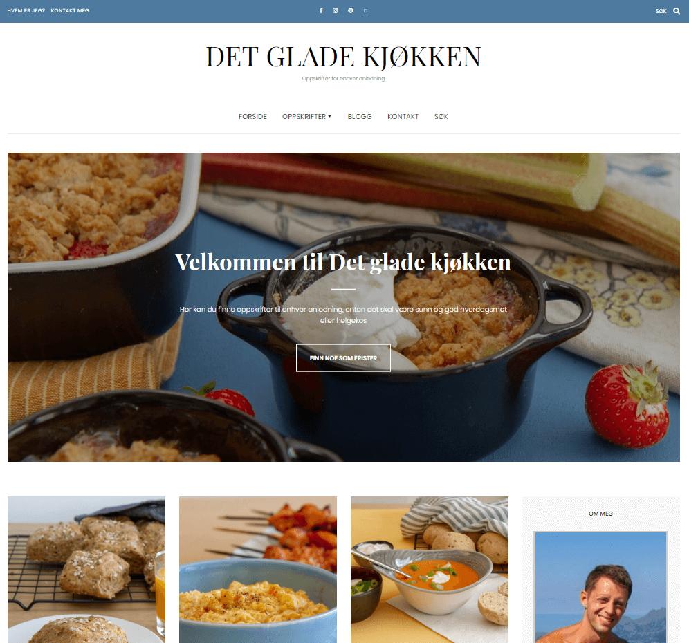 Det glade kjøkken - forside