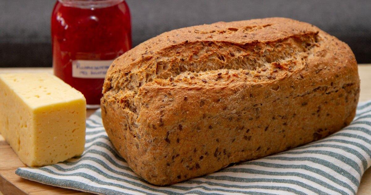 Brød med gulrot