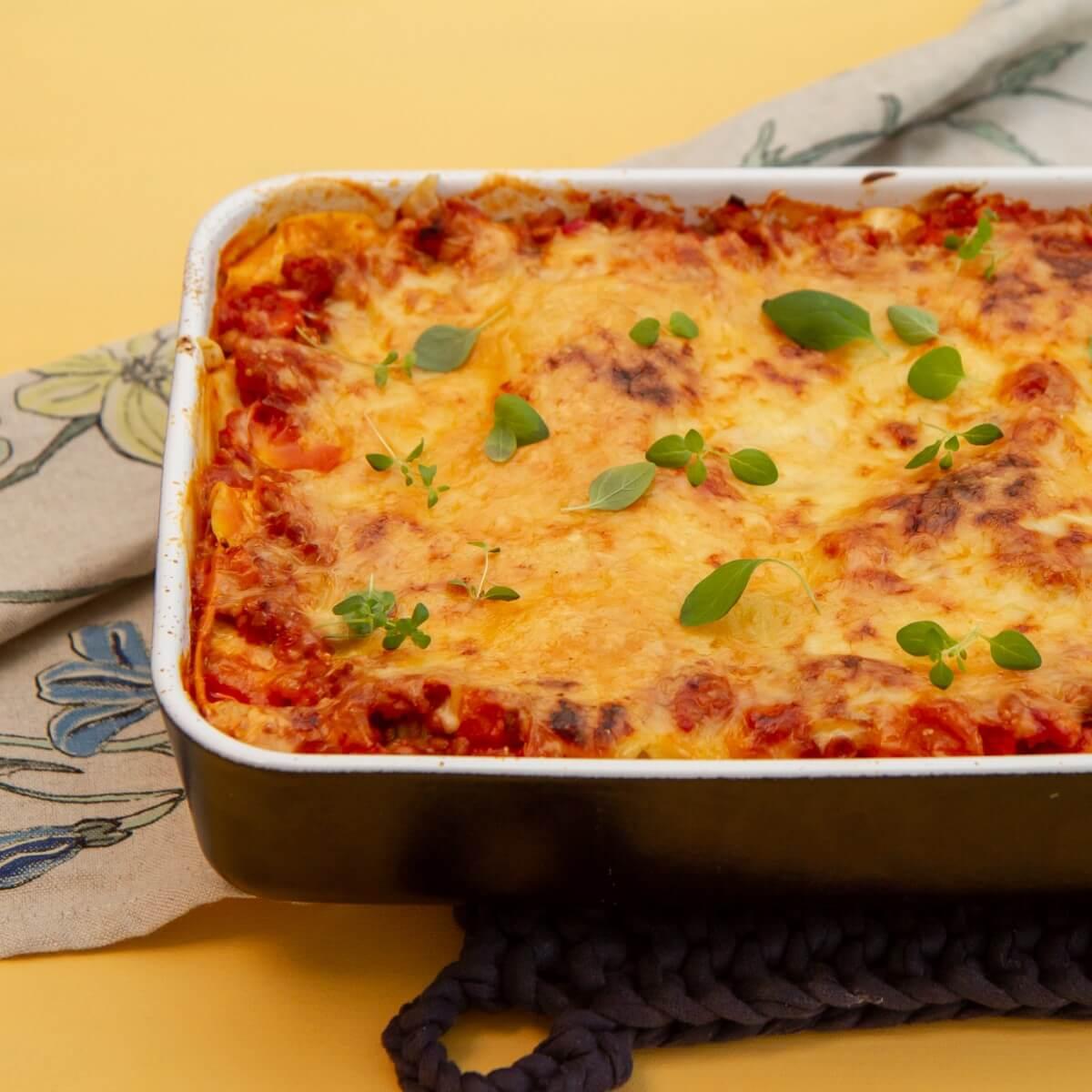 Rimelig lasagne