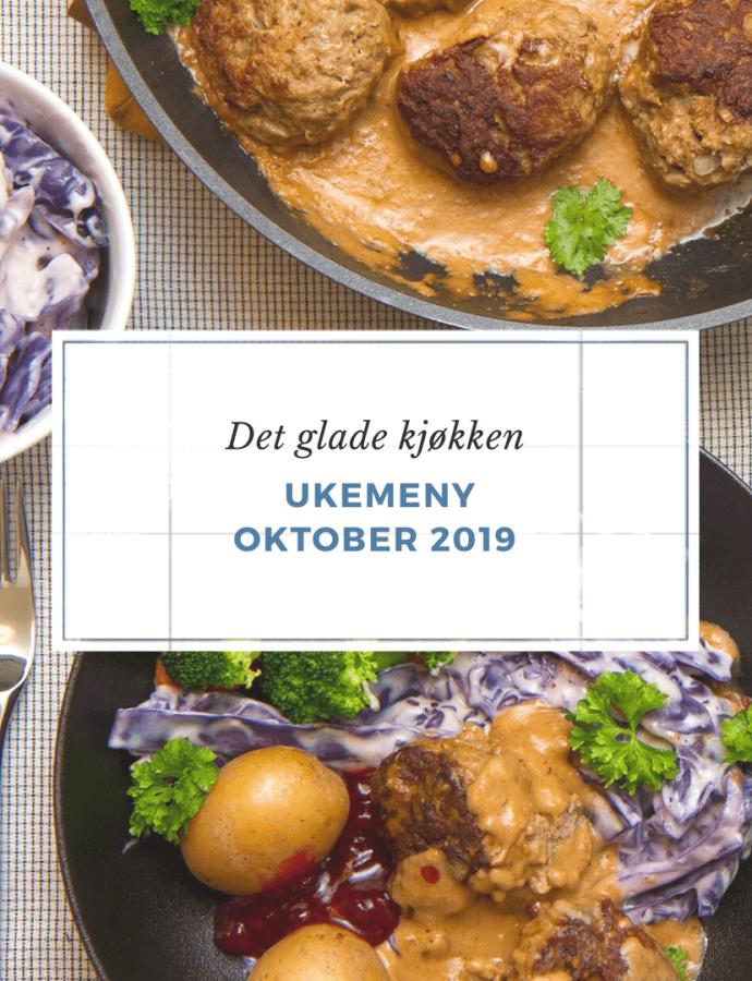 Ukemeny – oktober 2019