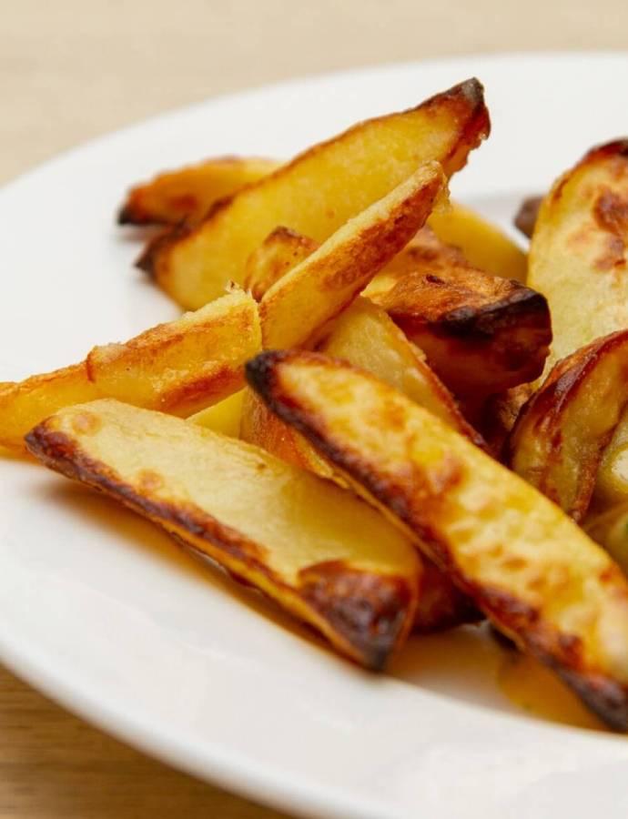 Sprø ovnsbakte poteter