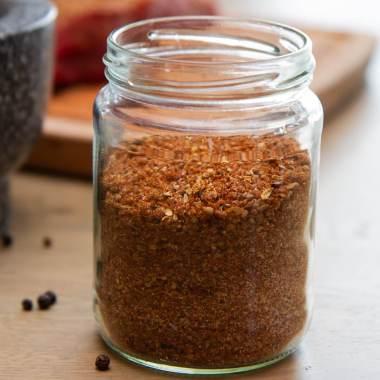 Dry rub krydder