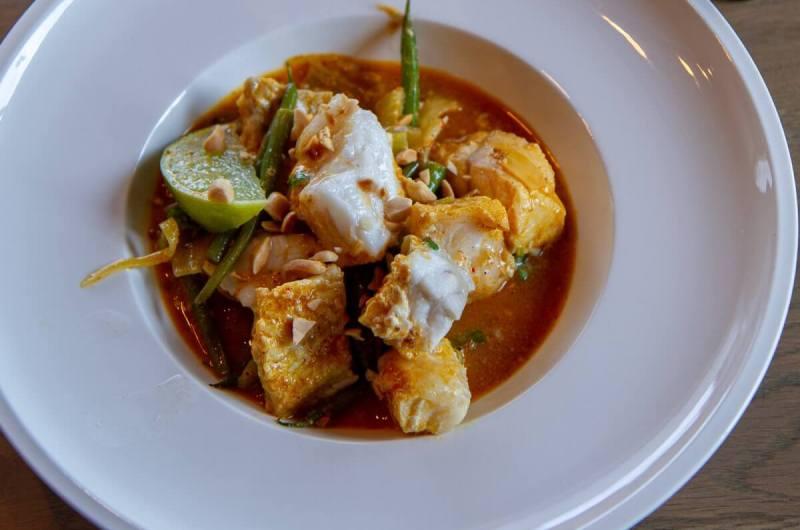 Curry med steinbit