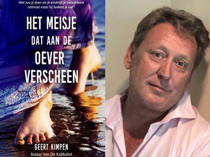 Geert Kimpen auteur Het meisje dat aan de oever verscheen