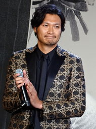 Rurouni_Kenshin_Kyoto_Inferno_The_Legend_Ends,_Red_Carpet_Premiere_Munetaka_Aoki