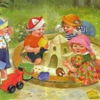 Занятия и прогулка в детском саду - стихи для детей