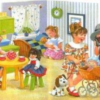 Первый раз в детский сад! - стихи для детей