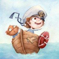 Юнга плавает в морях! - детские стихи про корабли и моряков