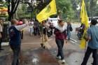 Aksi Demo 10 Dosa Kepala BIN Berakhir Ricuh