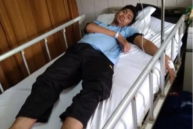Bahrul Rohman, Ustad Alumni 212 Yang Tergeletak di Rumah Sakit