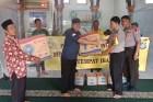 Polsek Tanjung Duren Bakti Sosial di Masjid Jami Baitussalam