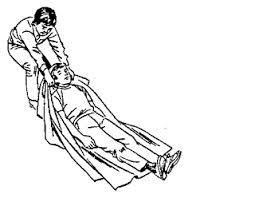 P3K - Cara Mengangkat Orang Yang Terluka