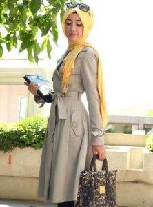 Kumpulan Gaya Jilbab Modern Untuk Bekerja4