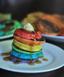 Resep Pancake Rainbow Manis Dan Lezat