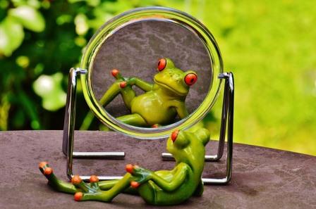 Cerita Lucu Yang Didalam Cermin Punyamu