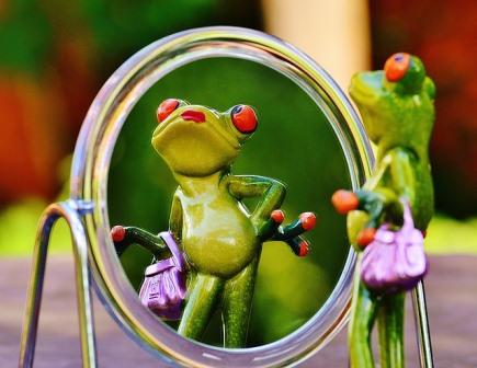 Cerita Lucu Cermin Yang Berbohong