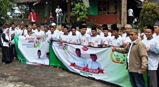Presidium Aktivis 212 Ciamis Siap Raih 70 Persen Suara Untuk Jokowi