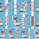 10 formas de atarte los zapatos de forma creativa