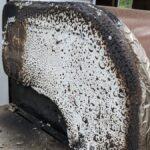 ¿Cómo se limpia una parrilla de gas?