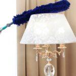 Cómo limpiar las pantallas de las lámparas y mantenerlas limpias