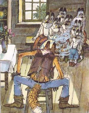 Сказка про маленьких крольчат | читать сказку с картинками