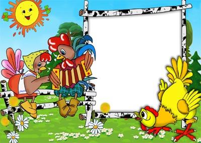 Фоторамка герои сказок Детские рамки для фотошопа