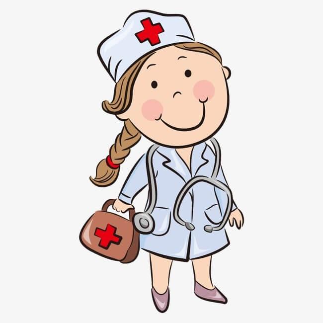 Картинка с медсестрами, дог смешные