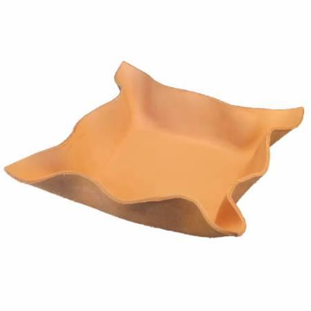 Brødbakke i kraftigt kernelæder - Det Lille Læderi
