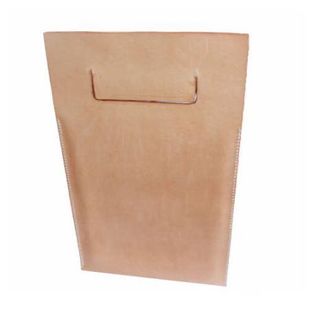 iPadpose i kernelæder - natur.