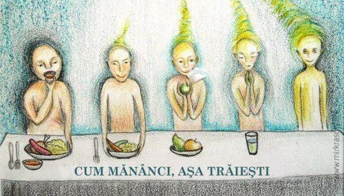 Cum mănânci, aşa trăieşti! - reguli de aur ale alimentaţiei