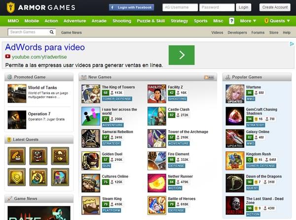 armor games - juegos online gratis