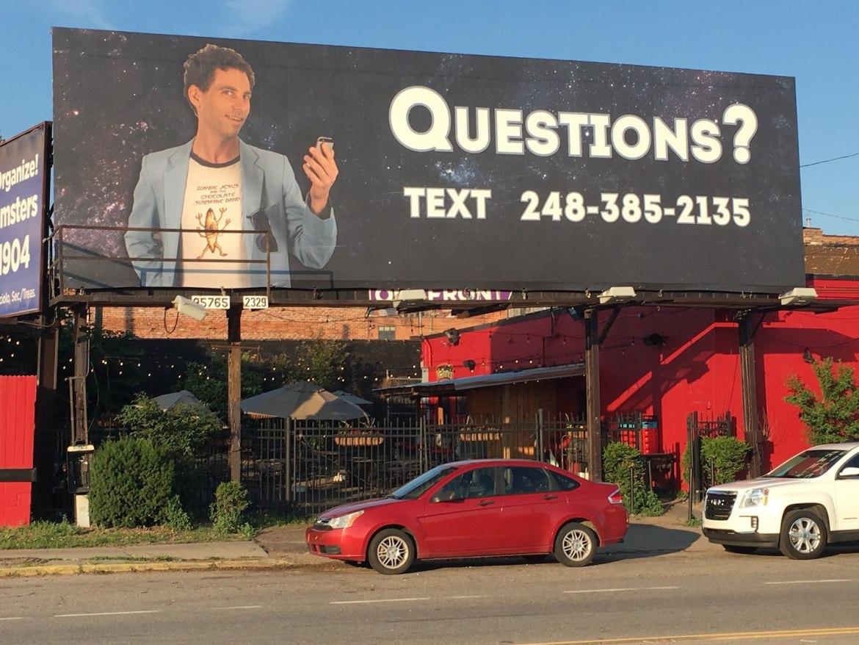 detroit questions billboard