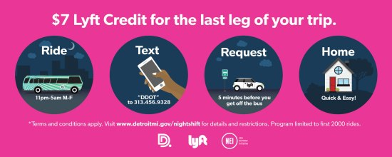 free lyft detroit instructions