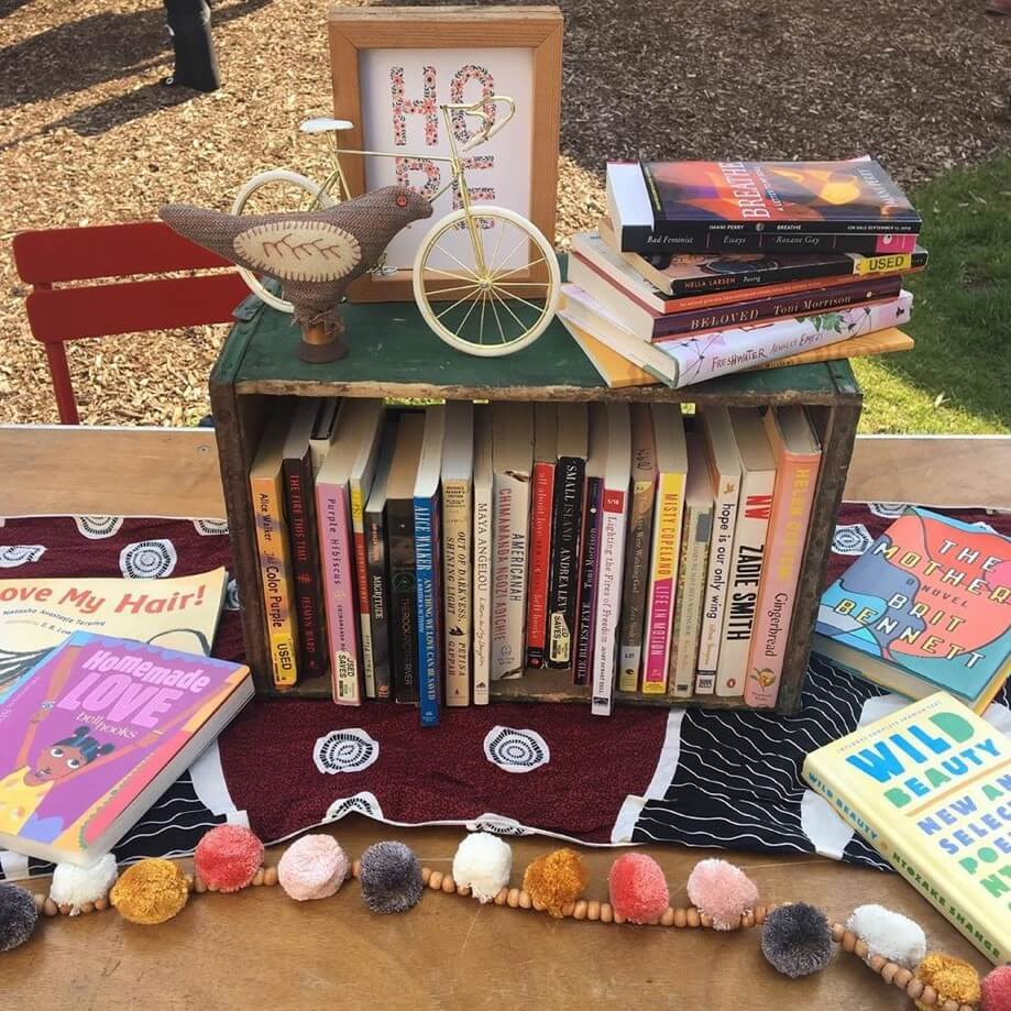A Free Black Women's Library-Detroit pop-up.