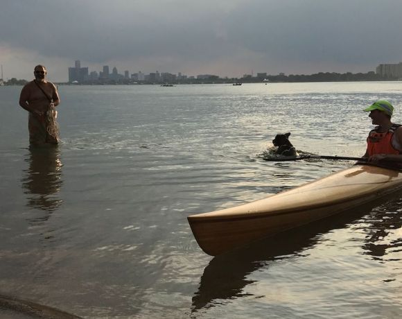 Kayaking at Belle Isle, state park in Detroit. Proposal 1 on Michigan ballots this election asks voters to make decisions about how public funds for parks and recreation should be spent.
