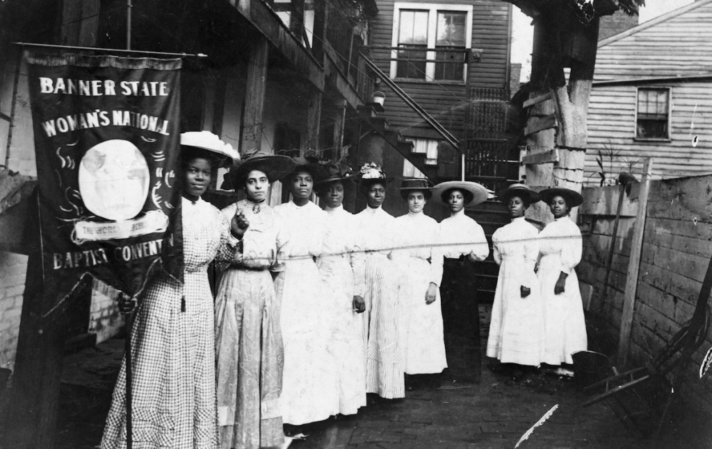 Black women suffragists in the early 1900s.
