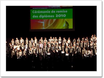 Remise des diplômes 2010