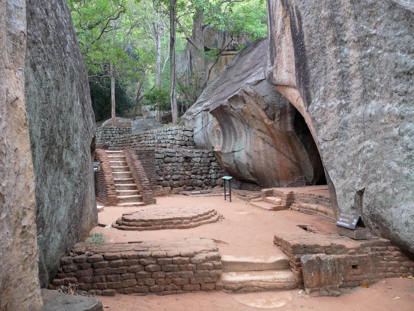 sigiriya grotte cobra