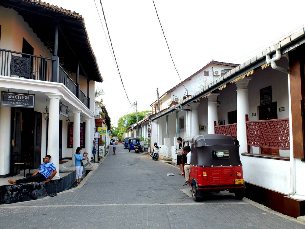 galle rues fort