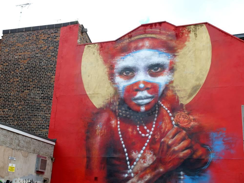 Dale Grimshaw street artist