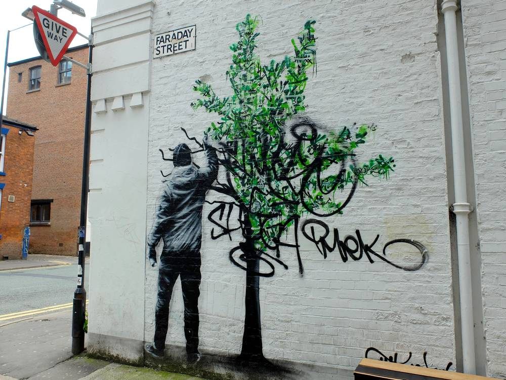 Martin Whatson street artist