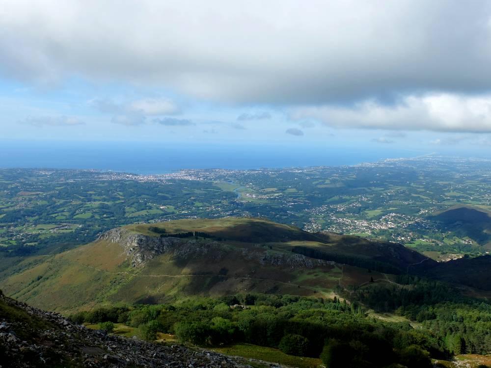 rhune panorama cote basque