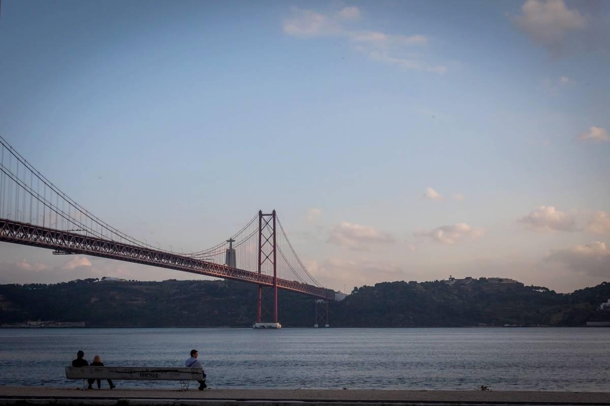 pont 25 avril quais lisbonne