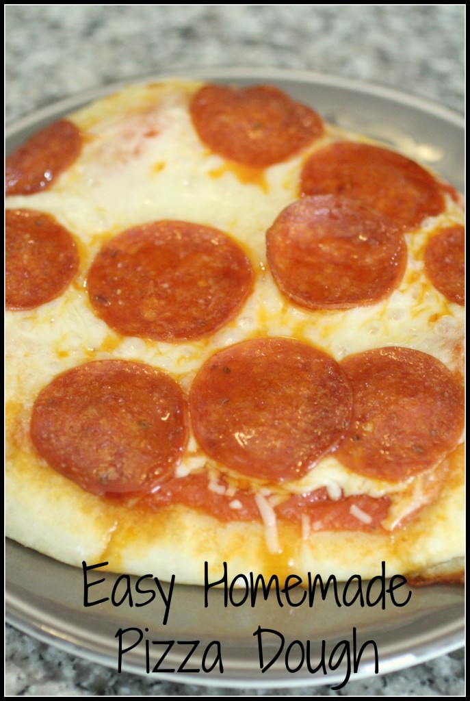 Easy Pizza Dough - Detours in Life