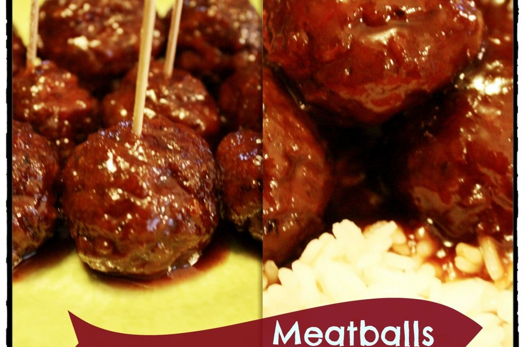 Tangy Crock Pot Meatballs