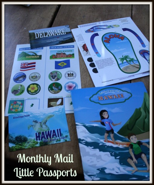 Monthly Mail Little Passports - Detours in Life